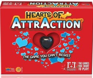 The magic of magnets in a red box.Great idea for a fun  Valentines gift.