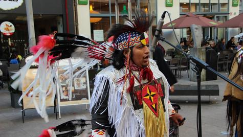 Street musicians from Peru