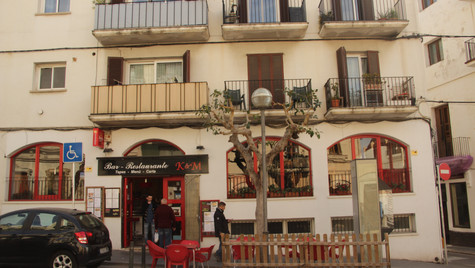 Cute little Spanish balconies