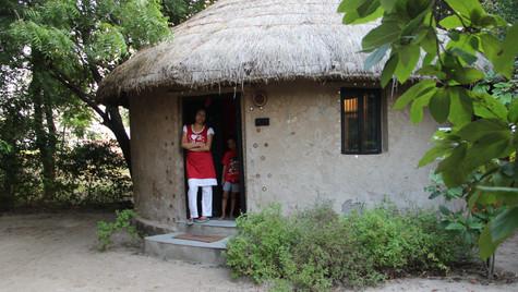 Our room in Rann Riders resort in Dasada.