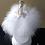 Thumbnail: Bibelot bailarina rotativa mecânica com música, 30 cm