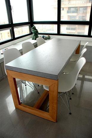 שולחן בטון אדריכלי עבור ארמני קאזה