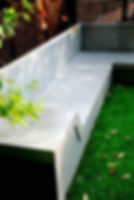 ספסל בטון אדריכלי בהזמנה