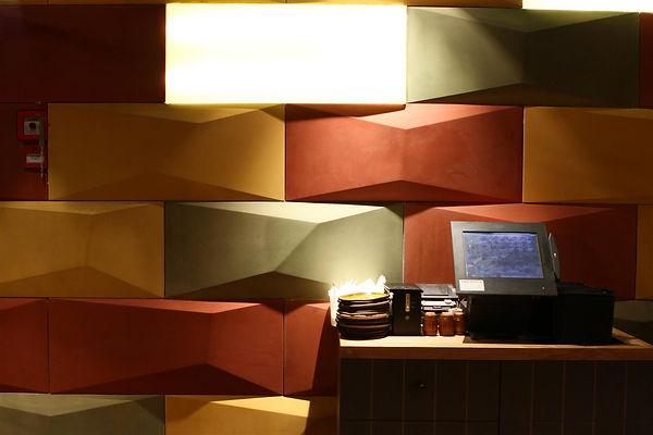 אריחי בטון אדריכלי תלת מימדיים