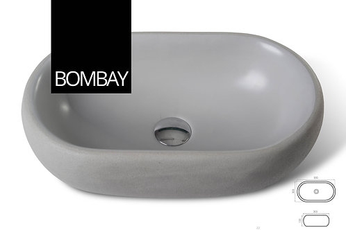 כיור בטון Bombay