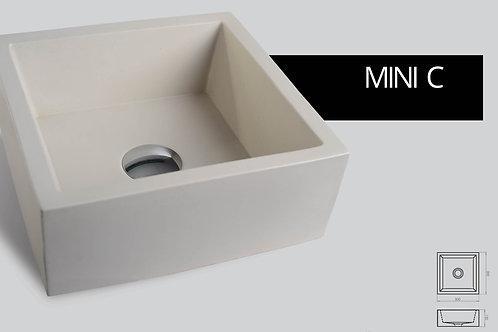 כיור בטון Mini cube