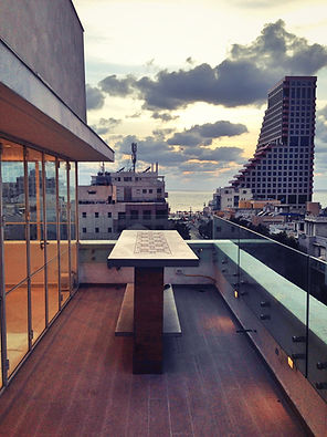 משטח בטון אדריכלי מעוצב