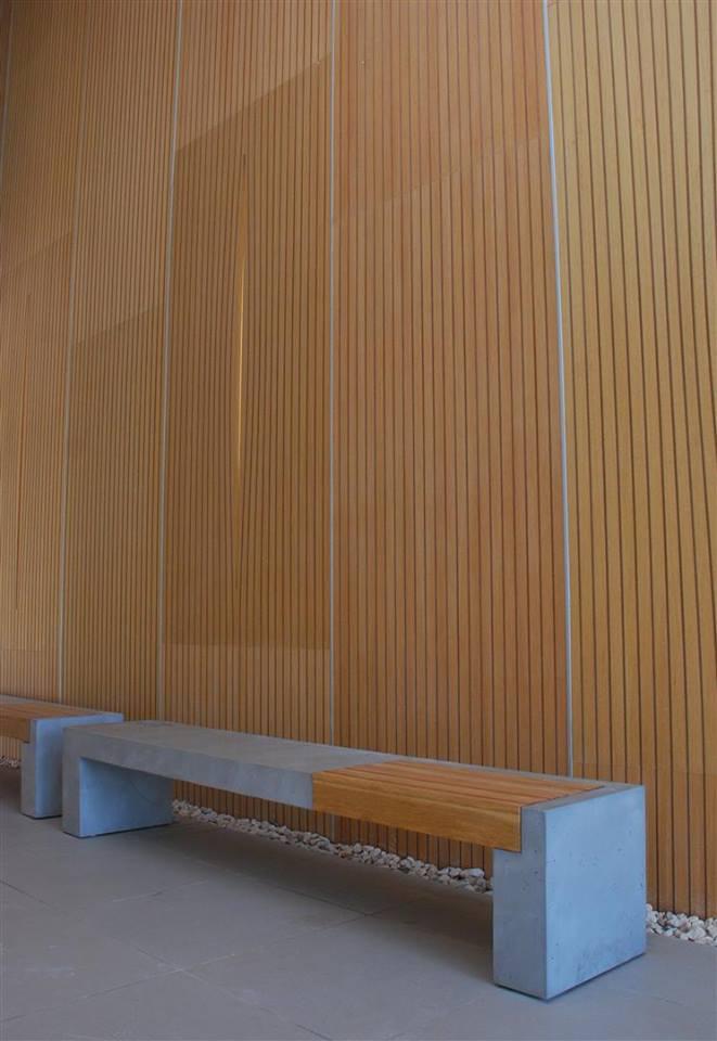 ספסל בטון