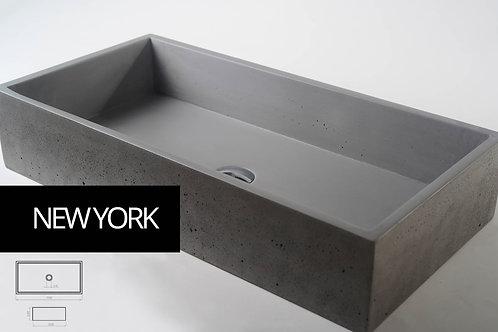 NEW YORK כיור בטון