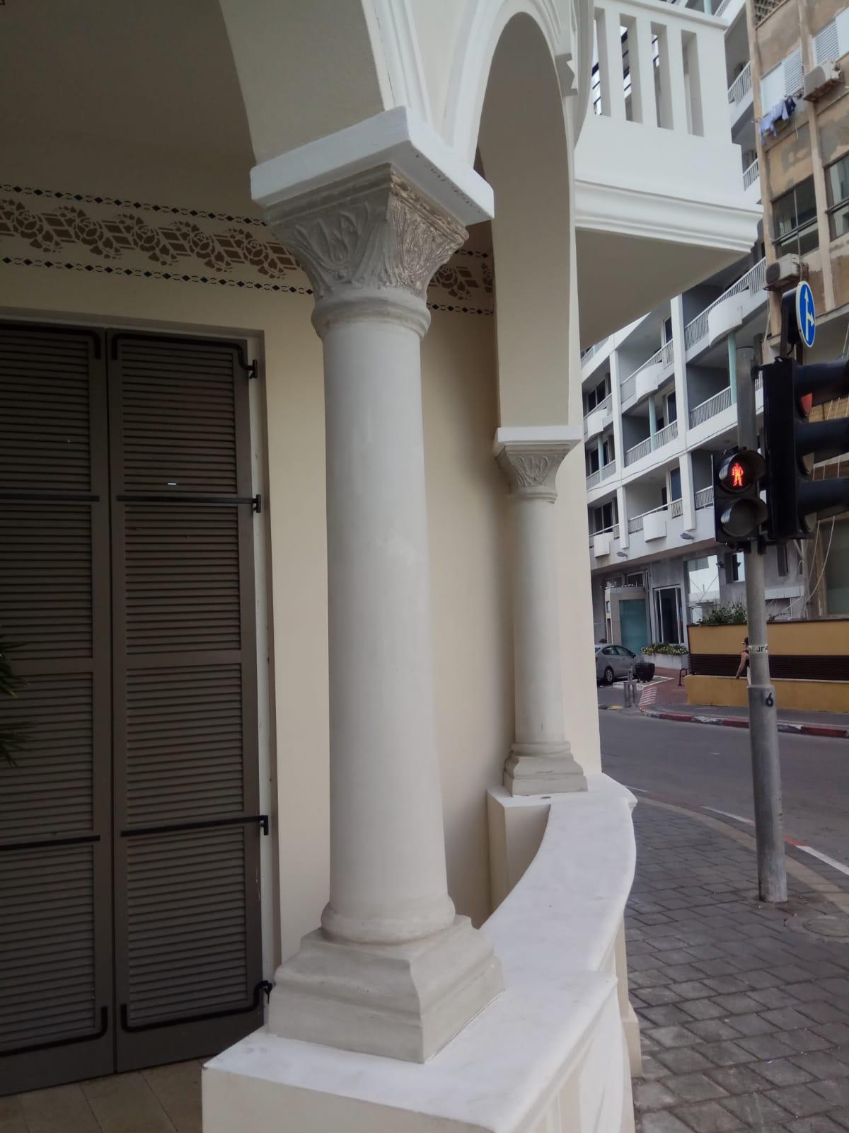 בטון אדריכלי, שימור