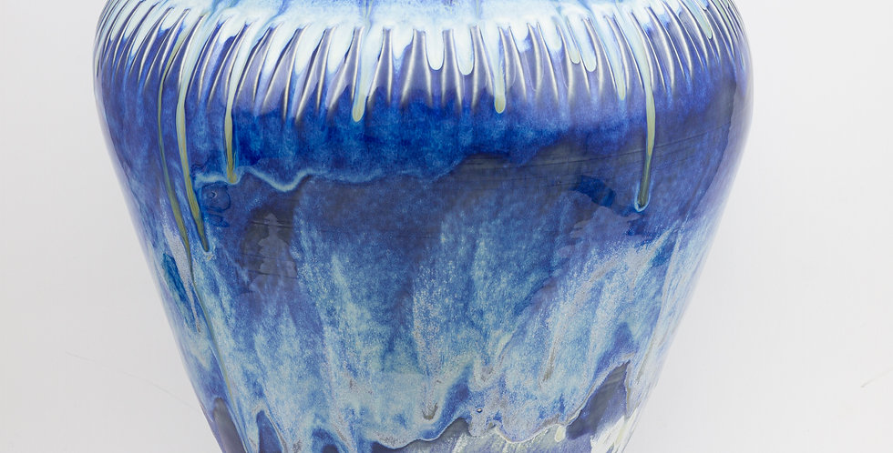 Extra large Storm Sky vase