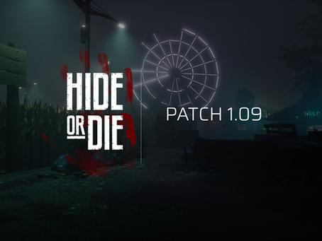 Hide Or Die:  Patch 1.09
