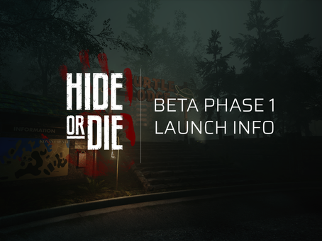 Hide Or Die: Beta Phase 1 Launch Info