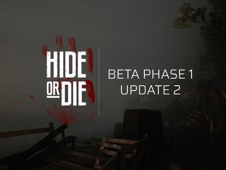 Hide Or Die: Beta Phase 1: Update 2
