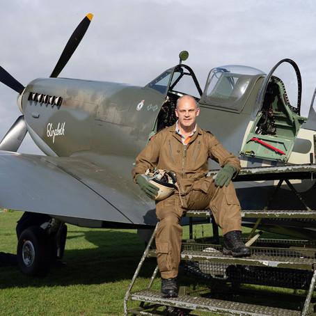 Spitfire Flight From Headcorn