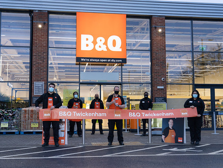 B&Q Twickenham Launch