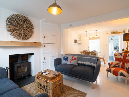 An airbnb in Whitstable