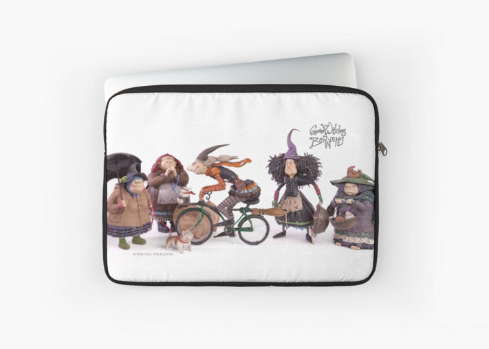 Good Witches Bad Witches Laptop Sleeve