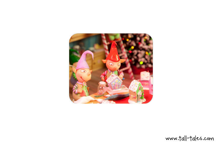 Mouse Pad / Mat - Christmas Elves
