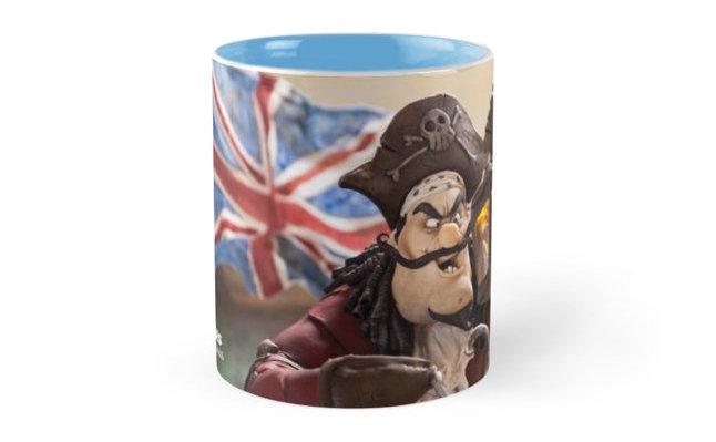 Captain Hook Mug - Blue