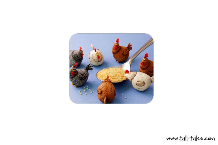Mouse Pad / Mat - Chickens