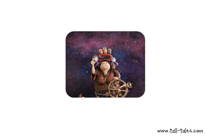 Mouse Pad / Mat - the Greek Witch