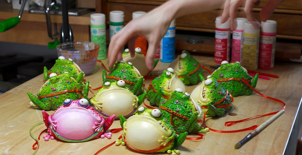 Creating pet toads - Tall Tales Productions