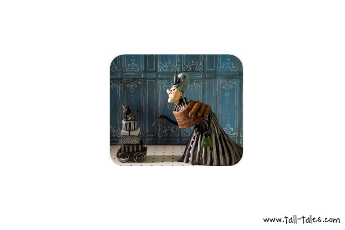 Mouse Pad / Mat - the French Witch