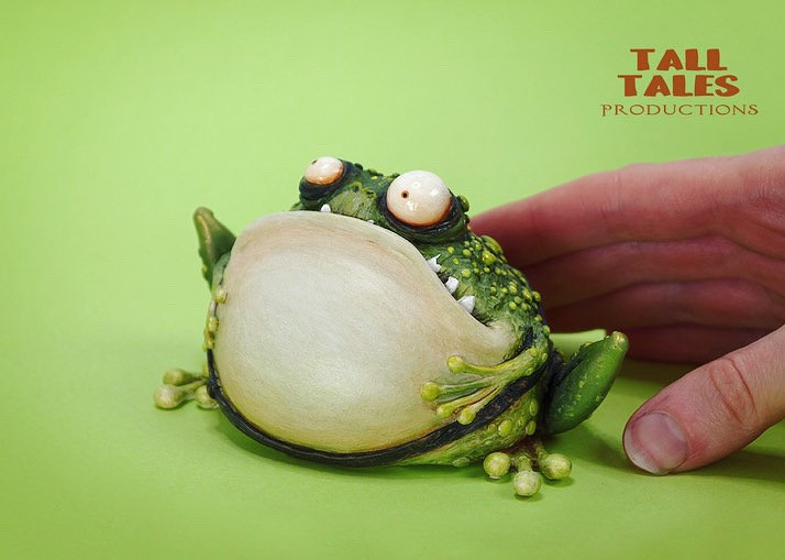 Fairytale Toad - Metallic Green