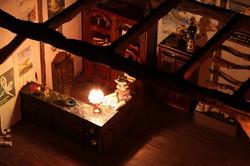 Magic trade shop interior