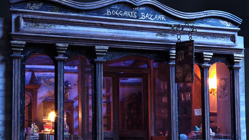 Magic trade shop exterior