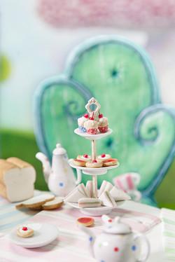 Tea cakes and fairy tale furniture