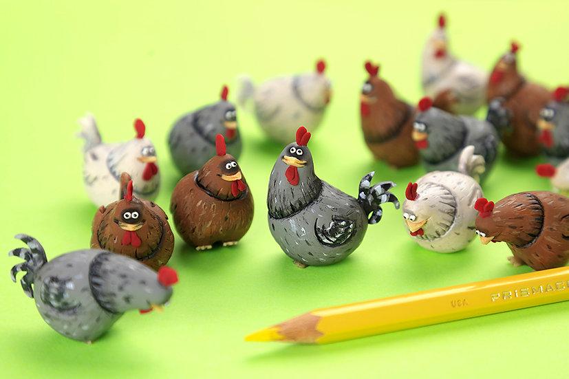 Hen Set (3 hens)
