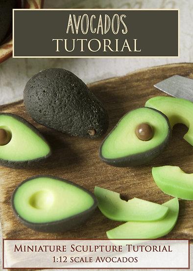 Avocados Miniature Sculpture Tutorial