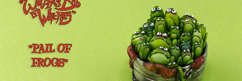Pail of Frogs