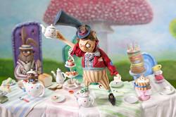 Tea party in English Garden