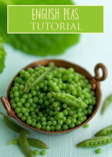English Peas Miniature Tutorial