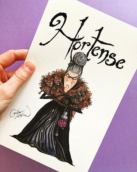 SIGNED Fine Art Print - Hortense