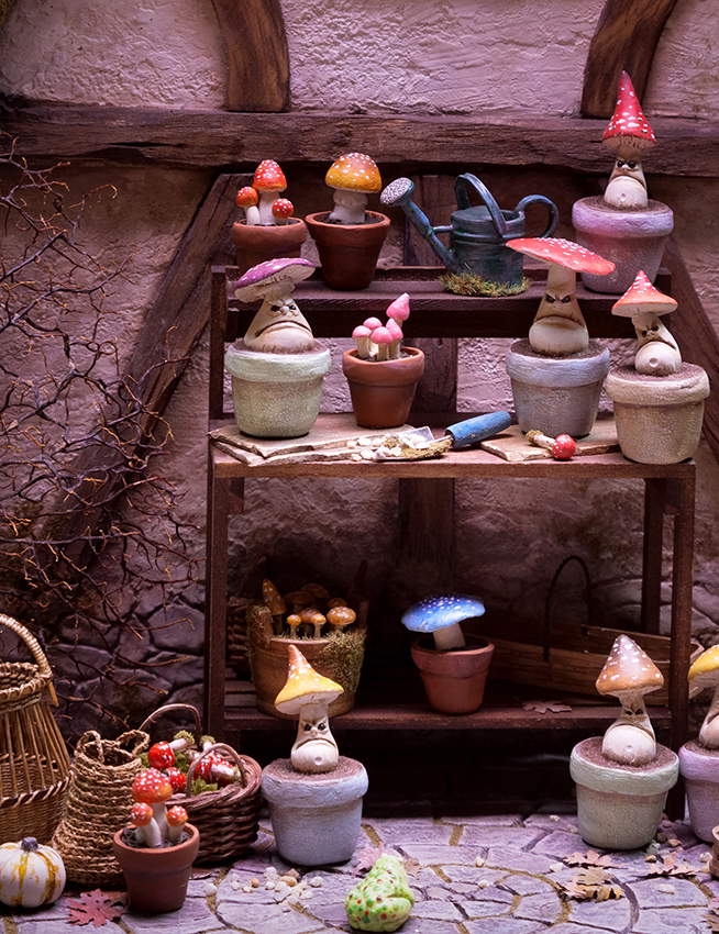 Enchanted potting shed