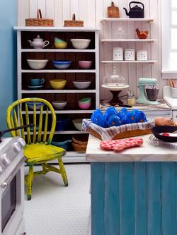 Modern wizard's kitchen