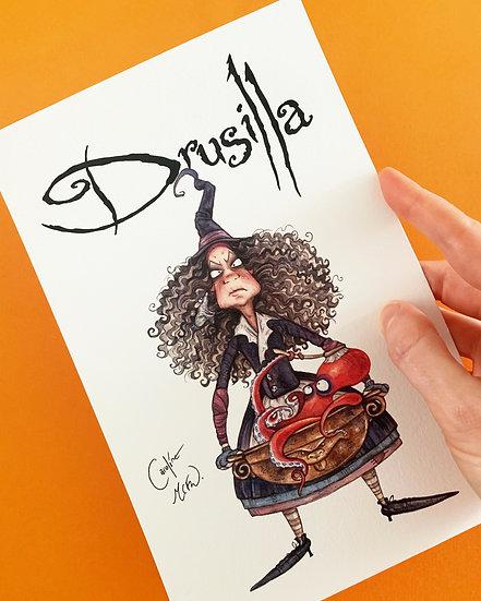 SIGNED Fine Art Print - Drusilla