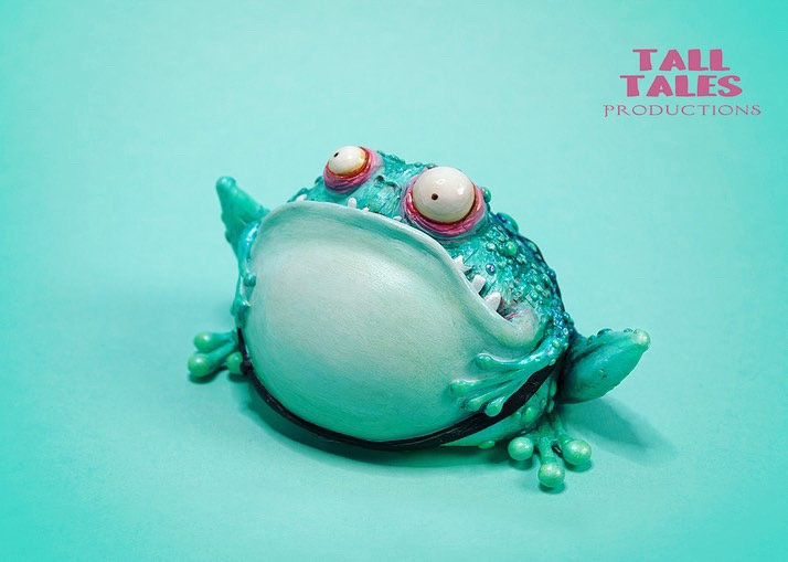 Fairytale Toad - Metallic Mint