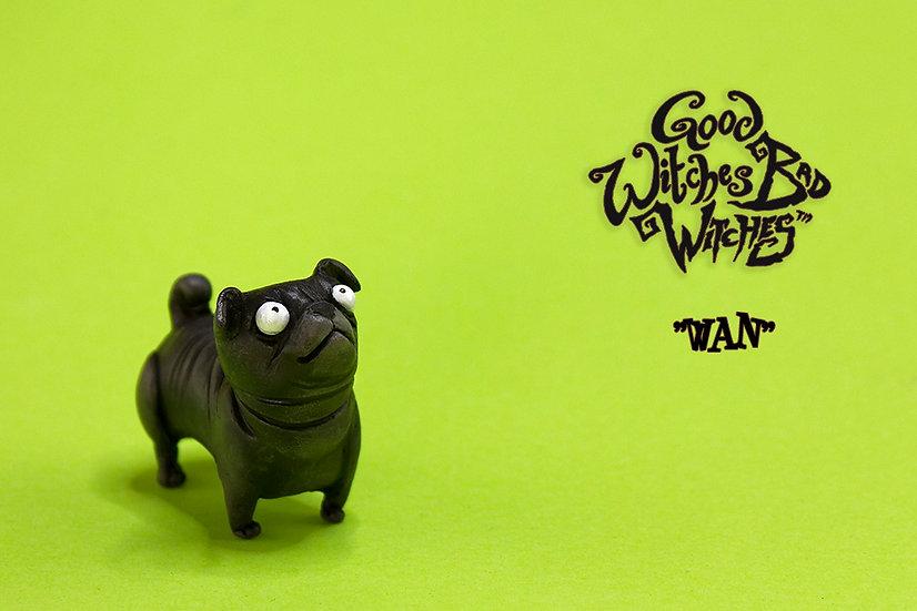 Wan (Black pug)