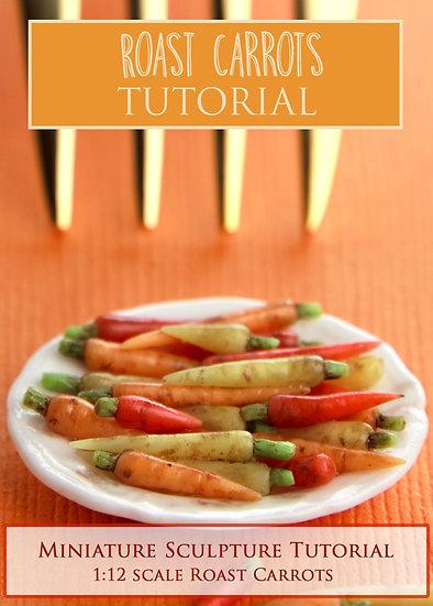 Roast Carrots Miniature Tutorial