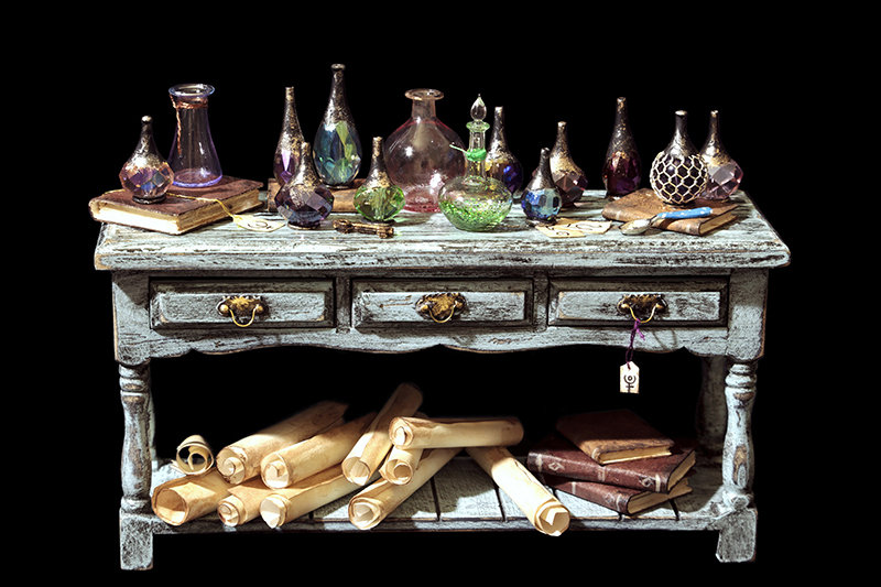 Potion table