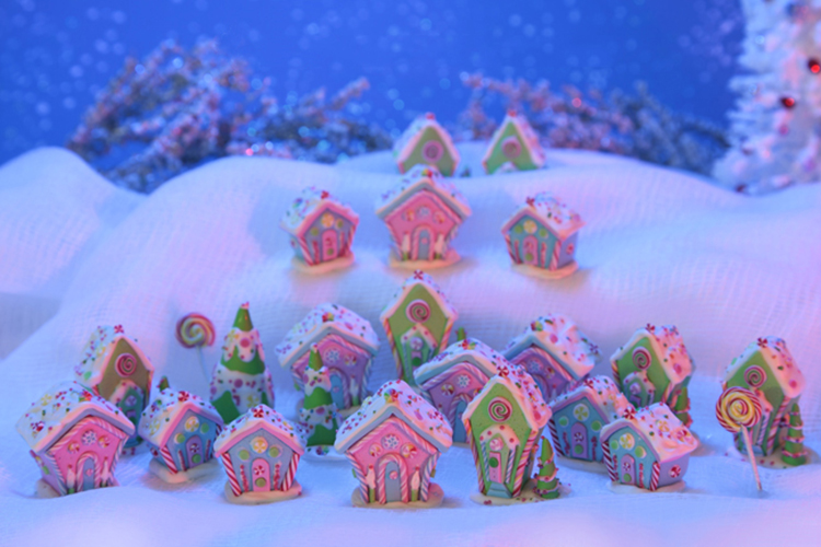 Gingerbread candy village