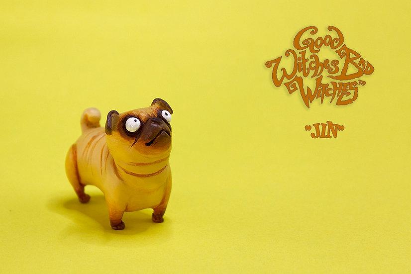 Jin (Golden pug)
