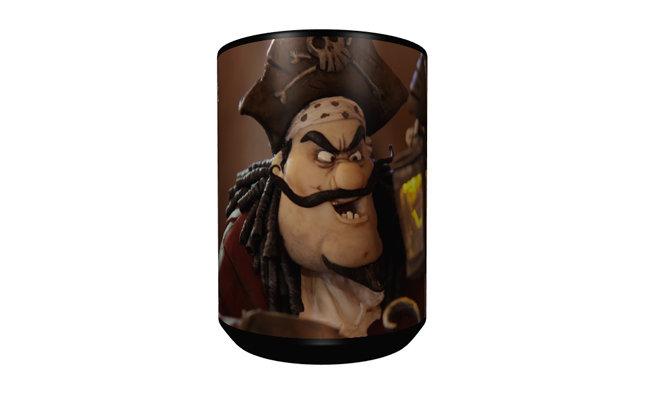 Captain Hook Mug - Black