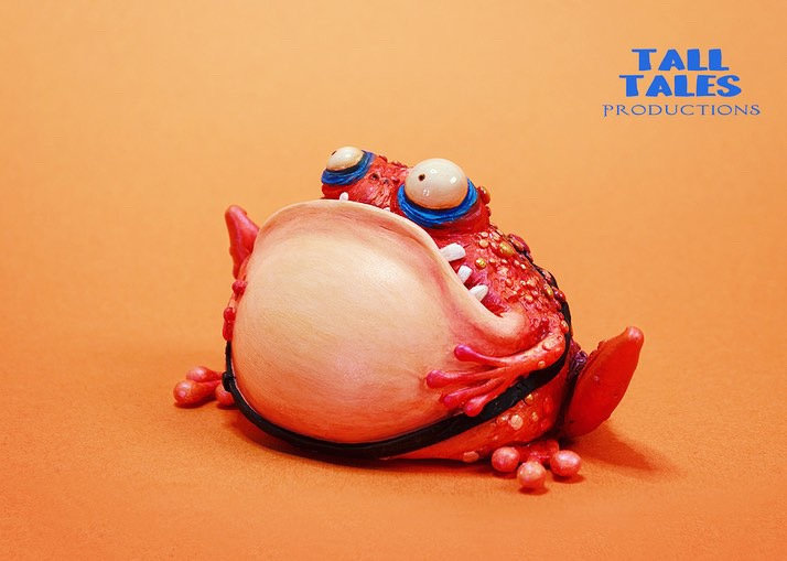 Fairytale Toad - Metallic Orange