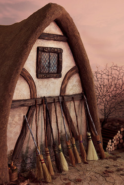Witchy thatched cottage